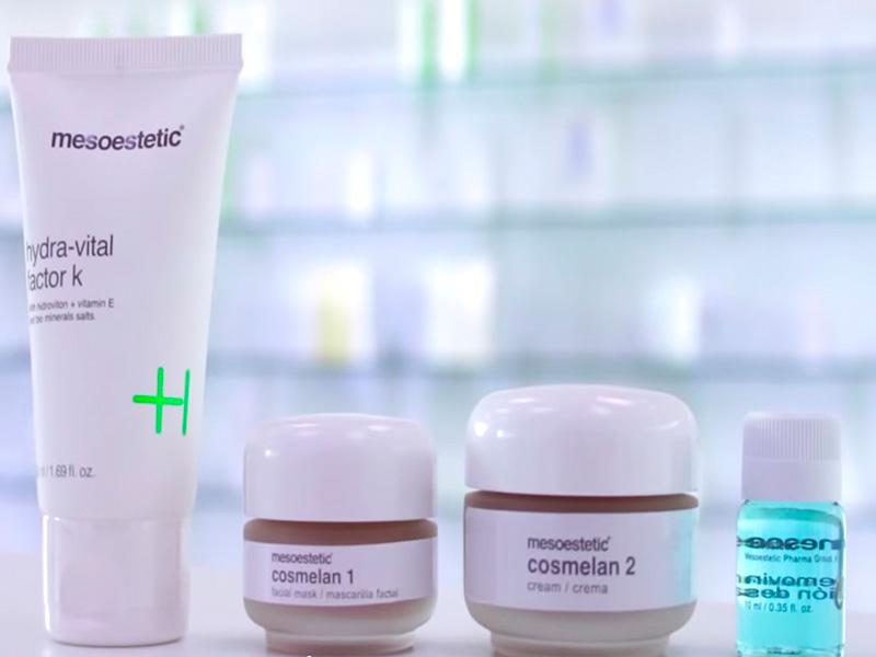 pigmentflecken entfernen mit Creme gegen Pigmentflecken